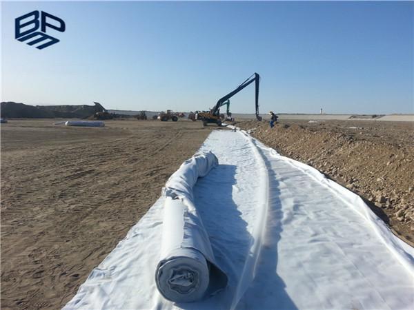 长丝土工布用应于中铁京张铁路项目