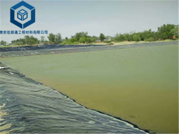 水塘防渗膜应用于湖南桃源县水库防渗工程